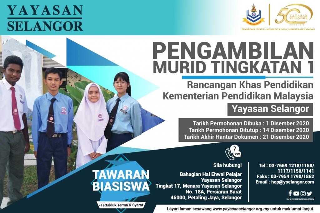 Yayasan Selangor Merakyatkan Pendidikan Selangor